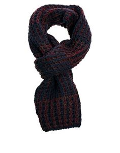 French Connection Chunky Knit Scarf
