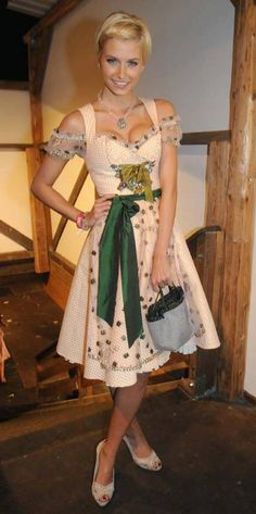 A dirndl dress is definitely on my list of clothing items to own!