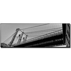 Trademark Fine Art Preston 'Brooklyn Bridge' Canvas Art