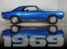 1969 Camaro, Volo Auto Museum, Volo, IL.  www.volocars.com