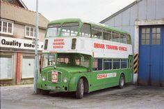 Crosville driver training bus Bristol Lodekka