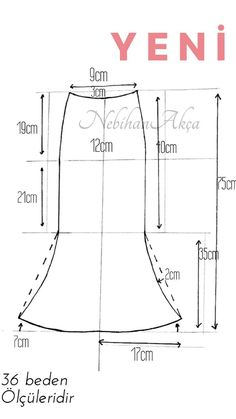 Amazing Sewing Patterns Clone Your Clothes Ideas. Enchanting Sewing Patterns Clone Your Clothes Ideas. Skirt Patterns Sewing, Clothing Patterns, Pola Rok, Embroidery On Clothes, Pattern Cutting, Pattern Drafting, Fashion Sewing, Sewing Techniques, Sewing Clothes