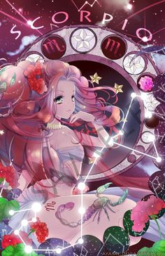 Read Girl Anime Zodiacs from the story Anime Zodiac Signs by authorxchan with reads. Anime Zodiac, Zodiac Art, Zodiac Signs, Astrology Signs, Art Scorpio, Scorpio Zodiac, Kawaii Anime Girl, Anime Art Girl, Scorpio Signo