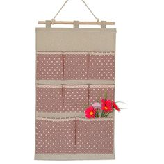 BXT Pastoral Style Linen Cotton Blended Multi-layer 8 Pockets Wall Over the Door Storage Organizer Hanging bag Space Saver Gift(Pink) BXT http://www.amazon.com/dp/B00XC2PRE2/ref=cm_sw_r_pi_dp_h3rPwb1Q2C398