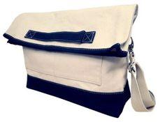 Navy laptop bag - view2