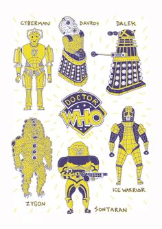 Dr. Who Monsters - Russell Taysom