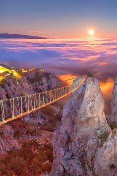 Bridges -Mount Ai-Petry - Crimea, Ukraine
