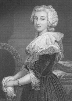 """Marie Antoinette  19th Century Engraving    Marie Antoinette is remembered in history for something she probably never said, """"Let them eat cake."""""""