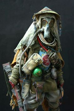 Bhead 1/6 custom post-apocalyptic figure...