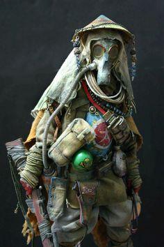 Bhead 1/6 custom post-apocalyptic figure...