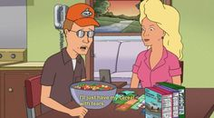nancy gribble. Nancy & Dale Gribble. Couples costume idea. King of the hill