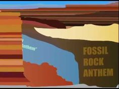 Fossil Rock Anthem, by science teacher rapper Tom McFadden. Third Grade Science, Elementary Science, Middle School Science, Science Classroom, Science Education, Teaching Science, Science Activities, Science Videos, Science Lessons