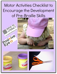 This braille readiness checklist identifies fine motor and tactile discrimination skills  needed for young tactual readers.