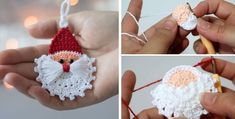 We should already prepare for winter holidays. Christmas is one of the best times for crochet lovers. There are so many Christmas projects that we want to try, however only few will be chosen. Today we are going to learn to crochet a beautiful Santa ornament. We are going to share with you multiple guidelines… Read More Crochet Santa Ornament