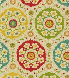 Throw Pillow Idea - Richloom Studio Home Decor Print Fabric Marmande Spring