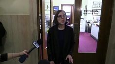 Secretary of State Kate Brown, Oregon's next governor, delivers brief remarks to reporters after John Kitzhaber announced his resignation Friday.
