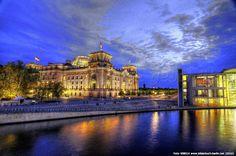 Bilderbuch Berlin - Berlin-Mitte Paul-Löbe-Haus - Architektur - MdB - Parlament - Buntestag