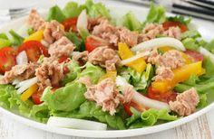 Na Cozinha da  Pri tem...: Salada de Atum simples e Saudavel