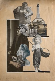 gacougnol:  Alexander Rodchenko  Photomontage for poem by Mayakovksy 1923