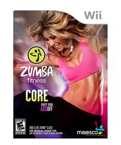 Take A Look At This Zumba Fitness Core Video Game For Nintendo Wii On Zulily Today Zumba Workout Zumba Workout Videos