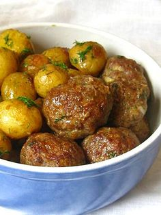 Bulgarian Recipes, Turkish Recipes, Ethnic Recipes, Bulgaria Food, My Favorite Food, Favorite Recipes, Lamb Meatballs, Cheesecake Recipes, Pork