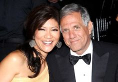 Read more: 15 Wives and Girlfriends Of The Richest Men In The World - Page 12 of 15 - Cyber Breeze  Follow us: cyberbreeze on Facebook  Julie is married to Les Moonves, President of CBS. She's an American news anchor, talk show host, and producer who entered the TV industry in 1990. Her success in news prompted her to take in critical roles for some of today's widely watched shows. Her husband has a net worth of more than $300 million.