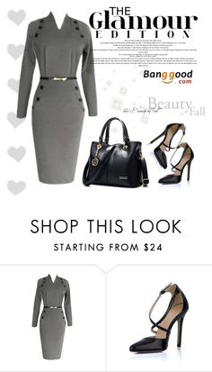 """""""Banggood"""" by amra-mak ❤ liked on Polyvore featuring women's clothing, women's fashion, women, female, woman, misses, juniors and BangGood"""