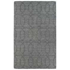 Imprints Modern Grey Rectangular: 5 Ft. x 8 Ft. Rug