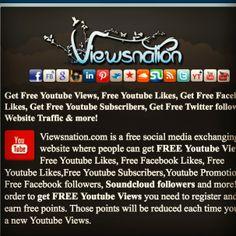 Social Media Exchange | Viewsnation.com