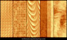 Warm Amber Patterns Part 4 by WebTreatsETC.deviantart.com on @deviantART
