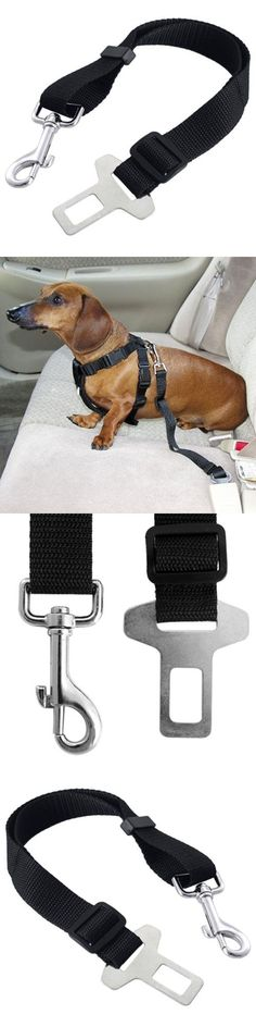 Car Vehicle Auto Seat Safety Belt Seatbelt for Dog Pet - Material: nylon fabricAdjustable length: 30 - 60 cmWidth: 2.5 cm1 X Pet safety belt - Vehicle Harnesses - Pet Supplies - $4.15