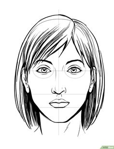 Uplifting Learn To Draw Faces Ideas. Incredible Learn To Draw Faces Ideas. Human Face Drawing, Realistic Eye Drawing, Human Figure Drawing, Life Drawing, Drawing Art, Drawing Tips, How To Draw Hair, Learn To Draw, Easy Drawings