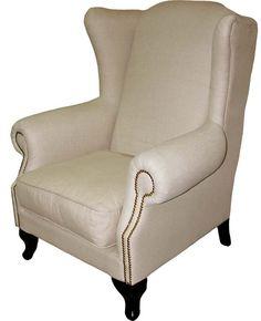 #Möbel #Landhausstil #Sessel Armchair, Furniture, Home Decor, House Styles, Deco, Sofa Chair, Single Sofa, Decoration Home, Room Decor