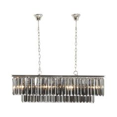 KARE Design Smoky Lounge Rectangular Pendant Lamp