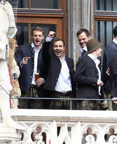 Bundesliga 2015 celebrations