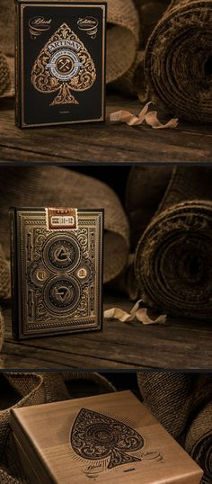 #Artisans playing cards with case