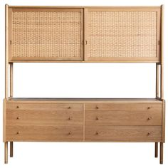 Hans J. Wegner Cabinet | From a unique collection of antique and modern cabinets at http://www.1stdibs.com/furniture/storage-case-pieces/cabinets/