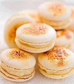 Ainda sobre Crème Brûlée nosso macaron, inspirado neste clássico, deixa qualquer um nas nuvens! #MonMacaron #Macaron #crèmebrûlée #inspiração #delicioso #surpreendente #clássicos #exótico