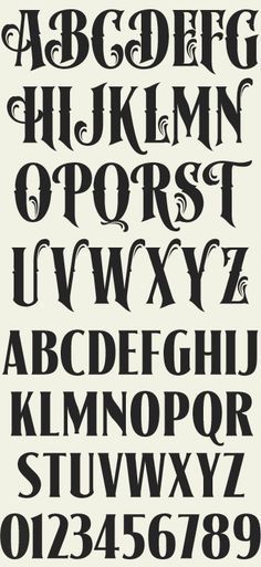 Letterhead Fonts / LHF Signmaker/ Antique Fonts