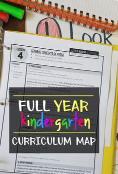 Free Kindergarten Curriculum Guide