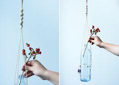 we love handmade | DIY: Makramee Blumenampel | http://welovehandmade.at
