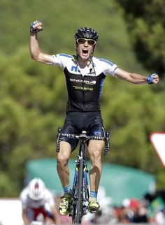 Leopold Konig (NetApp-Endura) wins stage 8 of the Vuelta a Espana, the Czech's and his team's first Grand Tour stage victory