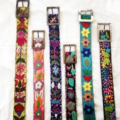 Need to brighten your jeans...?? Add a gorgeous bright fun belt! Cute as!