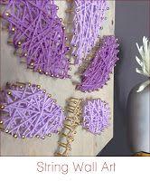String Wall Art DIY Tutorials