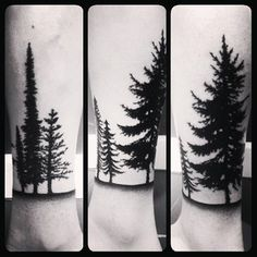 Forest | 50 Seriously Impressive Dotwork Tattoos
