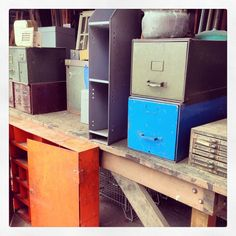 Rejuvenation PDX Salvage: Come find your new old office storage solutions