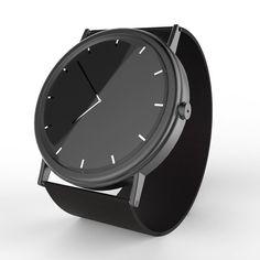 WatchOne-Concept | #industrialdesign #industrial #design #productdesign #product #watchdesign #concept #watchconcept ##designerwatch #stainlesssteel #steel #black #thedigitalportfolio by thedigitalportfolio