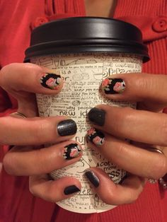 a few of my favorite things! Jamberry Nail Wraps in Midnight Sky and Sweet Nothing wrapped around a cup of coffee.  Find me on Facebook: https://www.facebook.com/jamorousnails or shop online at: http://kjm.jamberrynails.net