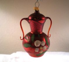 Vintage Early Glass Christmas Ornament