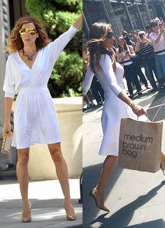Vestido blanco en NYC